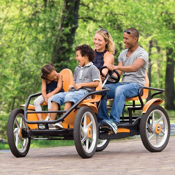 Take a ride on the Touring Quadracycle