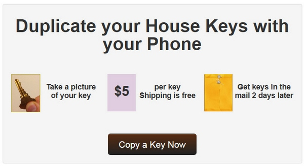 Shloosl – duplicate your house keys with your phone