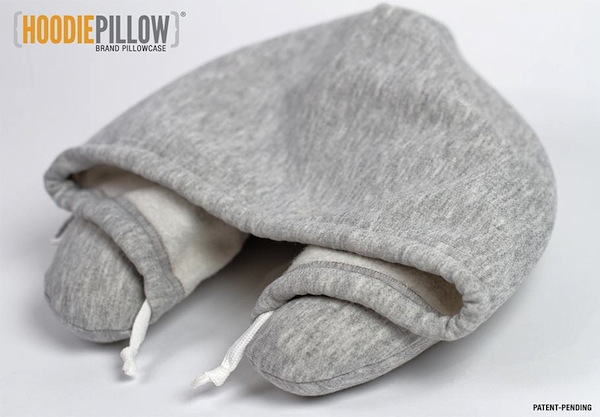 HoodiePillow gives you a cozy spot to nap wherever you are