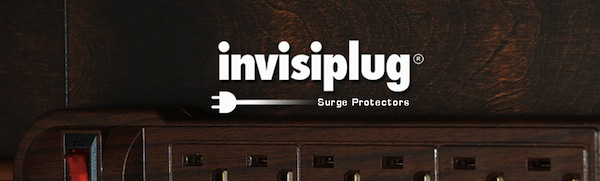Invisiplug Outlet Power Strip – Hiding in plain sight