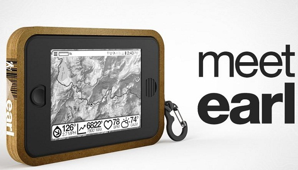 Meet Earl – a tablet that wants to be your hiking buddy