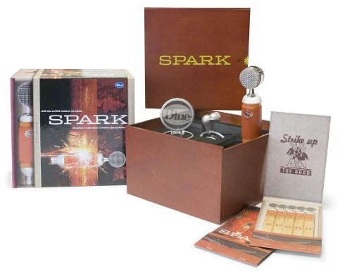 When hit with lyrical creativity, you'll want the Spark microphone