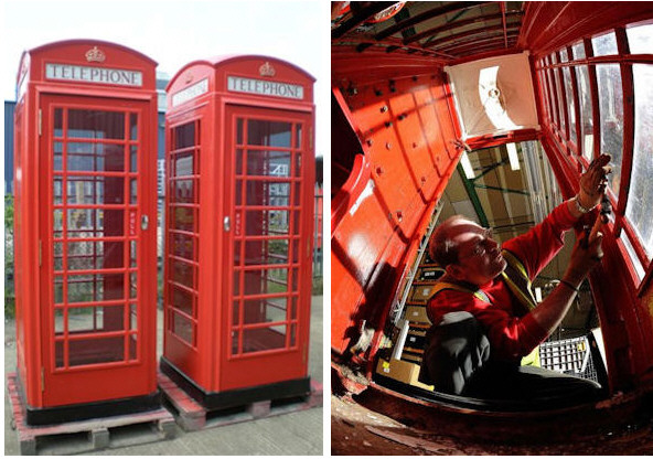 Original British Red Telephone Box – Sale Now On!