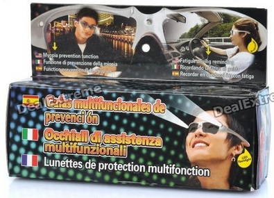 multifunctionglassesLEDposturealarm2