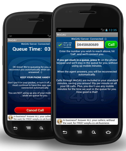 WeQ4U – free app feeds you through call centers and switchboards with no pain [Freeware]