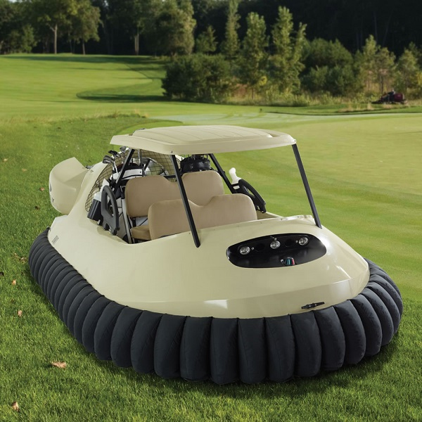 Who needs to play golf when you have the Golf Cart Hovercraft?