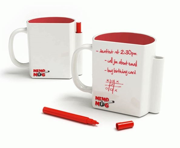 Memo Mug – Coffee and a to-do list can fix anything