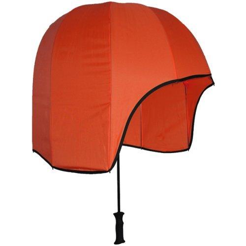 Rainshader Umbrella looks like a hilariously oversized helmet