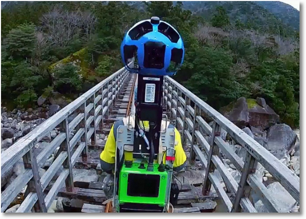 Google Street View Trekker Projects – fancy exploring the world with a borrowed camera on your back?