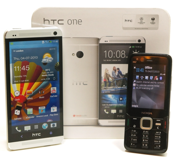 HTC One vs Nokia N82 – so how far has phone tech really progressed over 5 years? [Video Review]