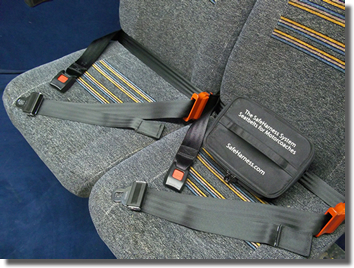 SafeHarness – a portable seat belt that could help save lives