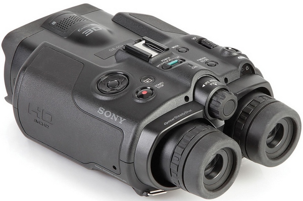 Sony 3D Camcorder Binoculars – get the best of all worlds close up and personal