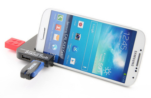 Universal USB Smartphone Hub Stand – make your phone work for its living