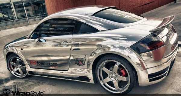 WrapStyle – why paint your car when you can chrome wrap it instead?