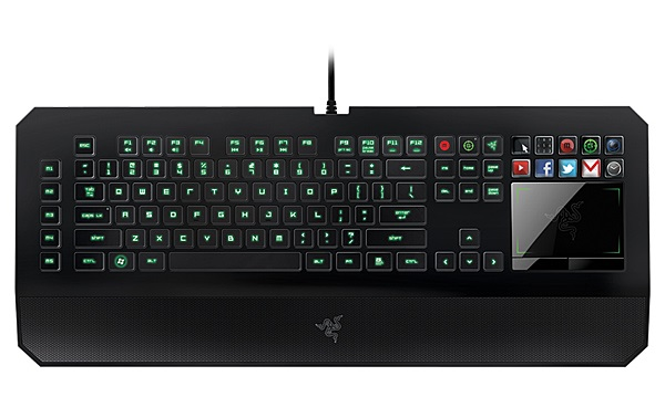 The Razer Deathstalker Ultimate Keyboard takes play time seriously