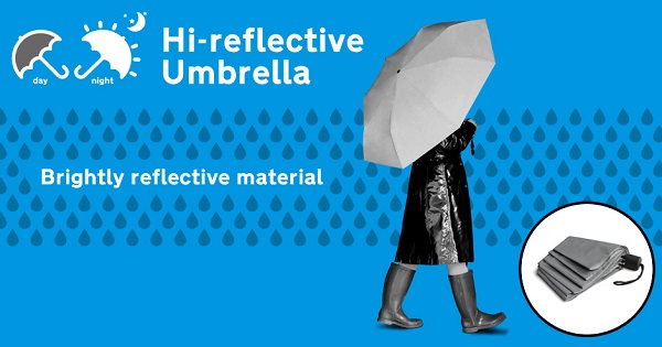 Reflective Umbrella -What has been seen cannot be unseen