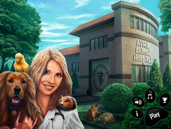 AVMA Animal Hospital – cute game lets you try out as a virtual vet [Freeware]