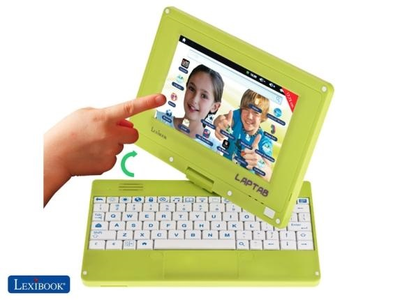 Lexibook Laptab is a wants to be a stepping stone device for kids