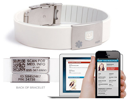 MyIDBand – your full medical profile on your wrist