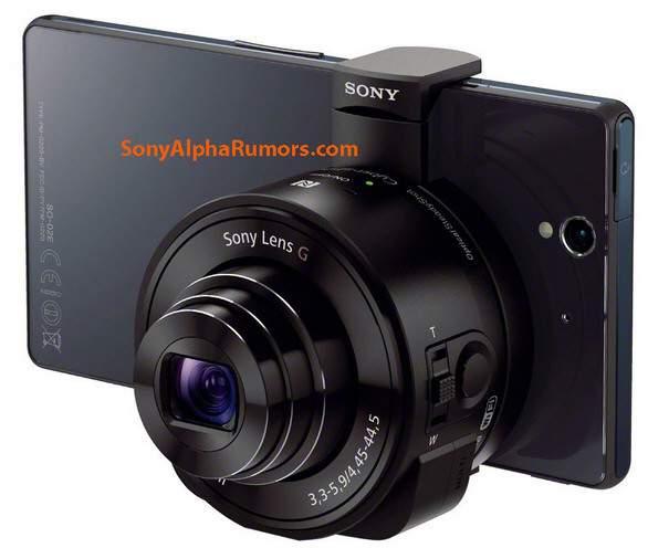 Sony DSC-QX10 Lens – turns your smartphone into an instant DSLR