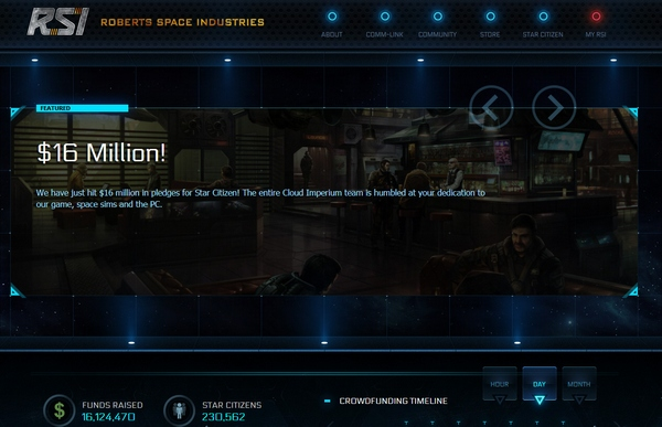 Star Citizen – Chris Roberts' successor to the Wing Commander game shows how game crowdfunding should really be done