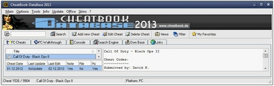 cheatbookdatabase2013 CheatBook Database 2013   the ultimate game cheat guide, hidden amongst five pages of deliberately confusing Download ads from Google [Freeware]