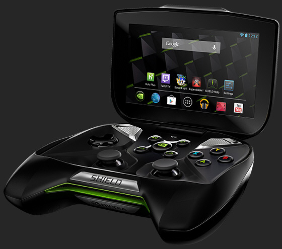 Hands on with the Nvidia Shield at PAX