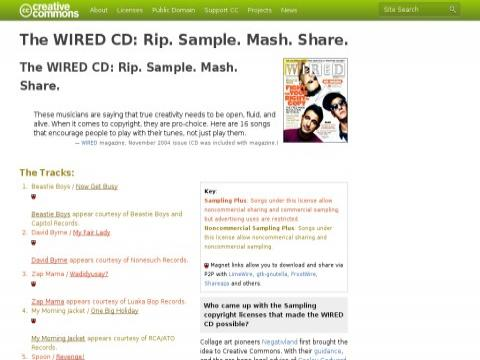 The Wired CD