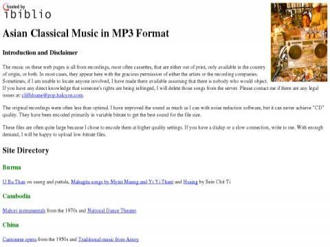 AsianClassicalMP3.org