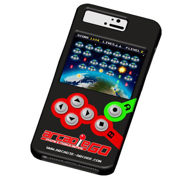 Arcadie Go for iPhone 4, 4S, 5, and 5S – Turn your iPhone into a retro-style arcade game