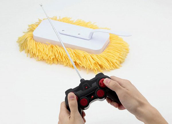 Remote Control Mop – let the mop do ALL the work