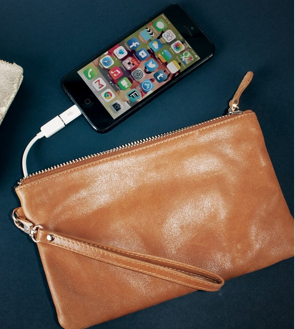 Mighty Purse – looks fancy, is fancy, and charges your stuff too