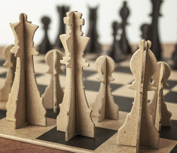 Paper Chess Set – just pop out and play