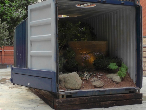 Shipping Container Garden gives hope to unemployed containers everywhere [Video]