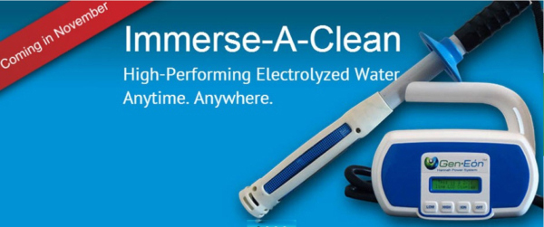 Immerse-A-Clean wand cleans without toxic chemicals