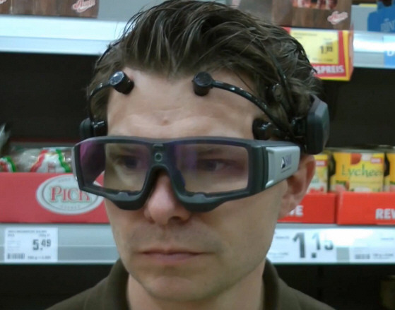 SMI Eye Tracking Glasses 2.0 With EEG Monitor – buckle up, the marketing war has only just begun, thanks to some rather spooky technology