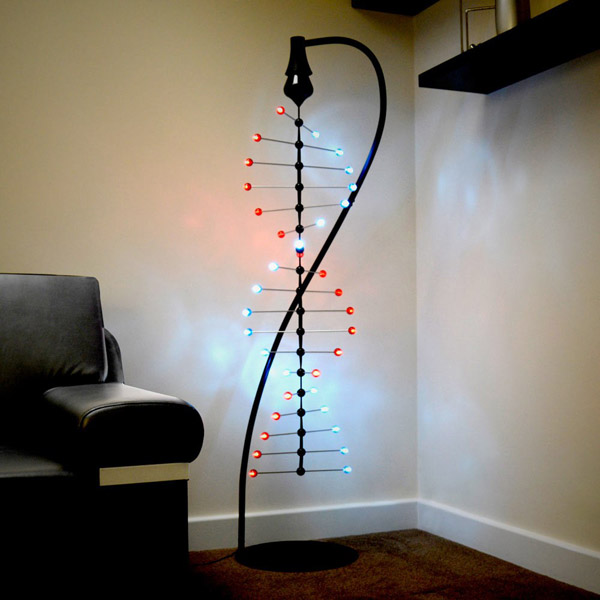 LED Spiral Helix – Let the building block of life soothe you