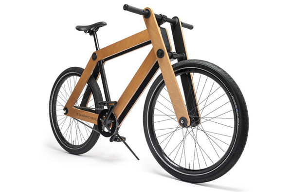 Sandwichbike – The wooden bicycle that comes in a box