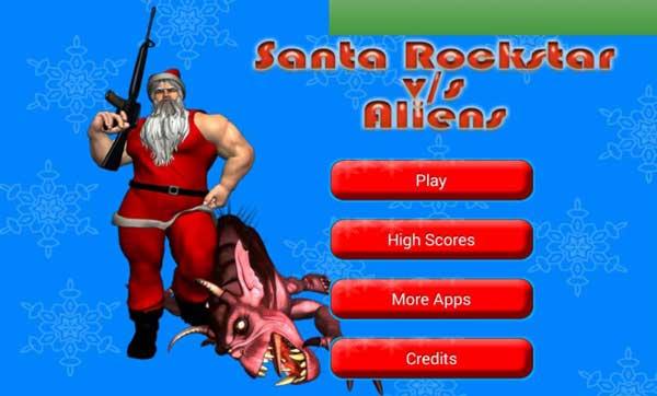 Santa Rockstar Vs Aliens [Freeware] – Get in the Christmas spirit with a little alien destruction