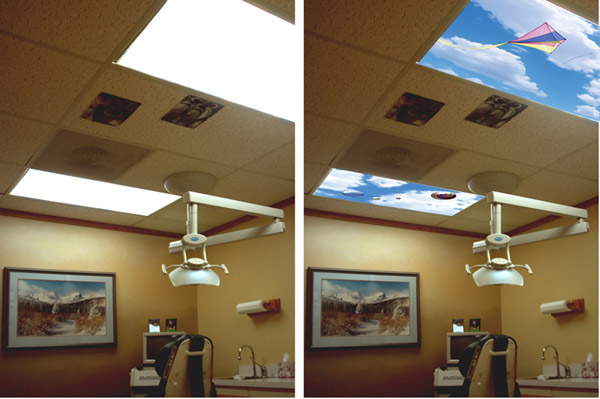 SkyPanel Fluorescent Light Diffusers – Feel like you're outside even when you're not