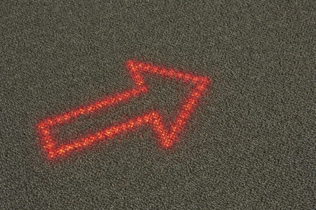 New venture would replace signs with LED embedded carpet