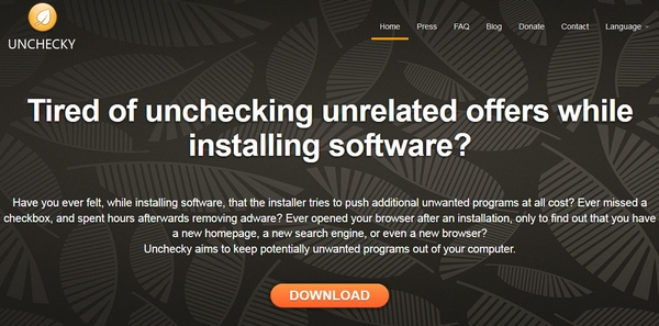 Unchecky – automatically avoid installing nasty toolbars when you install software on your computer [Freeware]