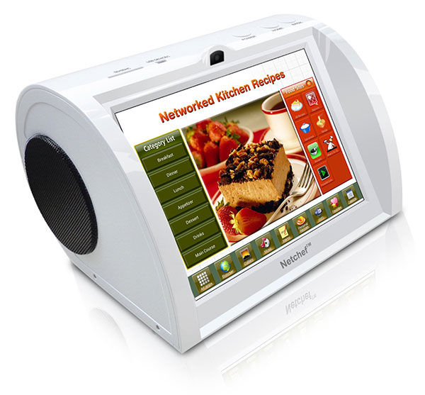 Netchef G2 – Android powered device teaches you how to cook efficiently.