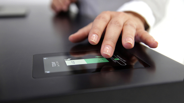 Stir Kinetic Desk Touchscreen