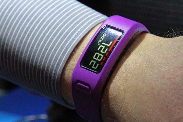 Vivofit Fitness Band – Telling you the time, and that it's time to get off your lazy butt