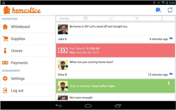 Homeslice – the free app that will guarantee your roommates love you [Freeware]