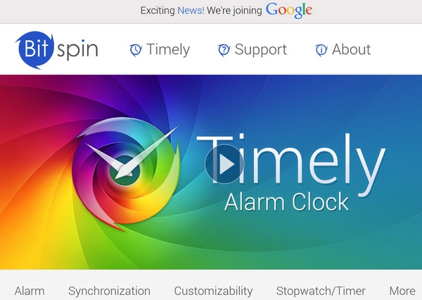 Timely – absolutely gorgeous alarm clock for Android, now free of charge [Freeware]