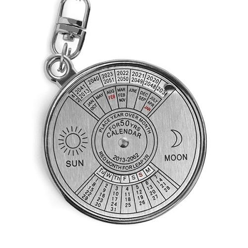 50-Year Calendar Key-ring