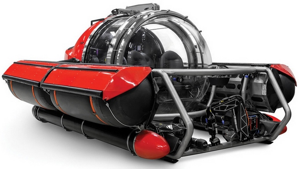 Five Person Exploration Submarine – state of the art undersea explorer for the price of a business jet