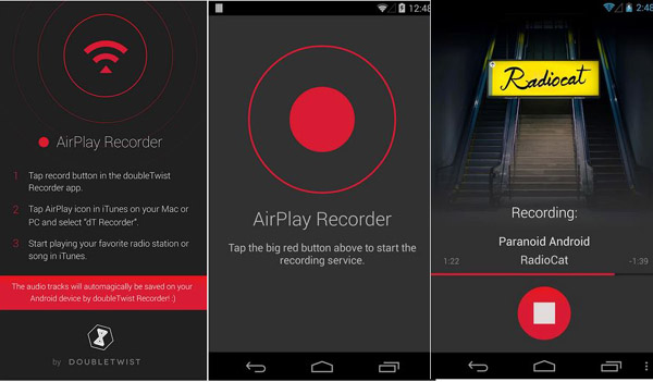 AirRecord: The AirPlay Recorder – Record your iTunes songs anytime you want. [Freeware]